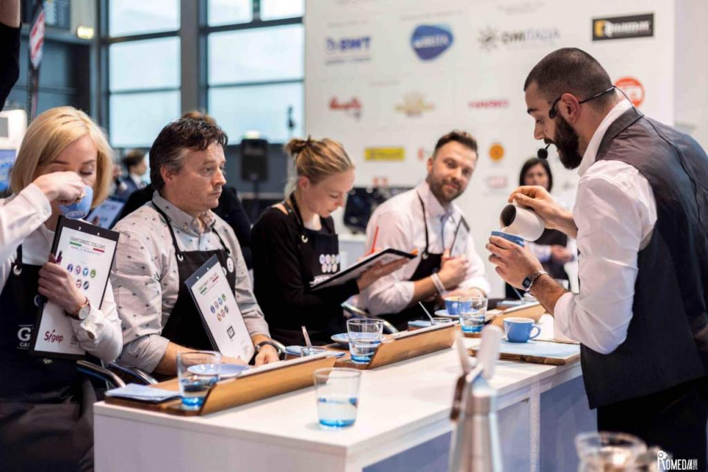 Всемирные конкурсы и выставки кофе в Амстердаме, Бостоне и Берлине