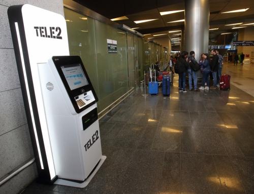 Теле2 установила во Внуково первый симкомат с распознаванием лиц