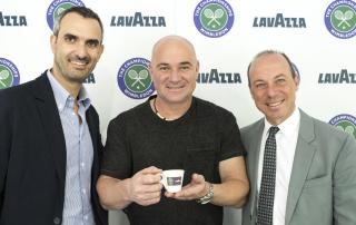 Маркo Лавацца, Андре Агасси, Джузеппе Лавацца