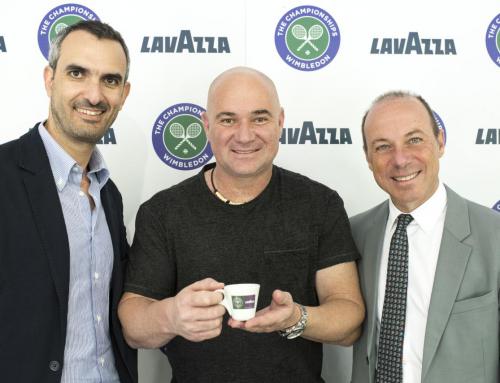Компания Lavazza в восьмой раз стала спонсором Уимблдона