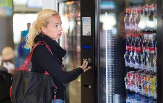 Рынок торговых автоматов на Украине заполнен на 5-10%
