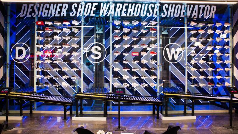 Обувной вендинг по-американски