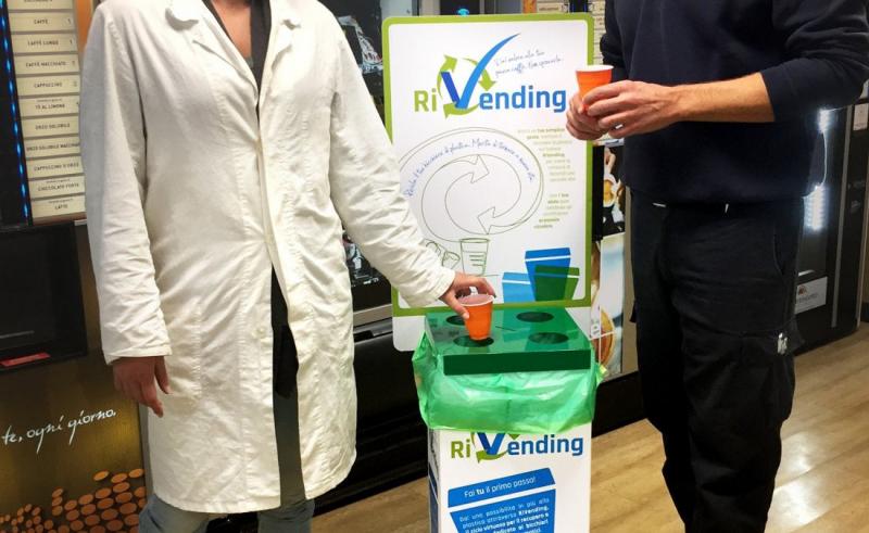Итальянский проект RiVending новая жизнь пластиковых стаканчиков и размешивателей