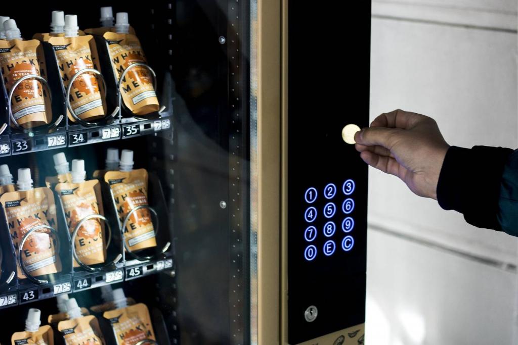В Лондоне установили торговый автомат по продаже виски
