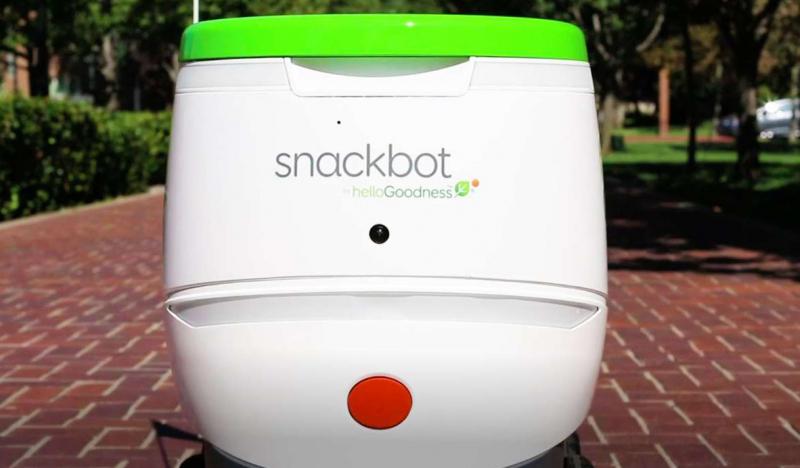 Hello Goodness Snackbot. Тоже вендинг