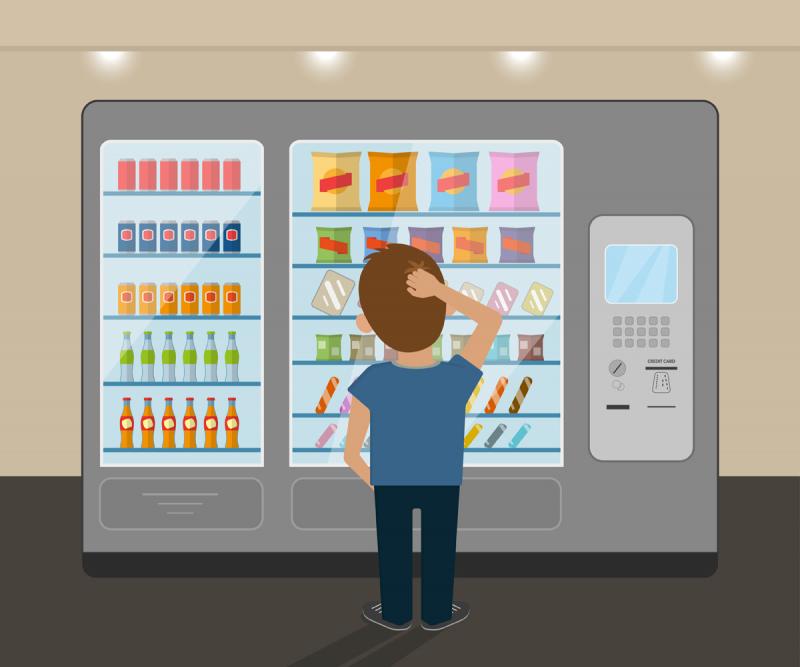 В школах Томска установят торговые автоматы с оплатой через мобильное приложение