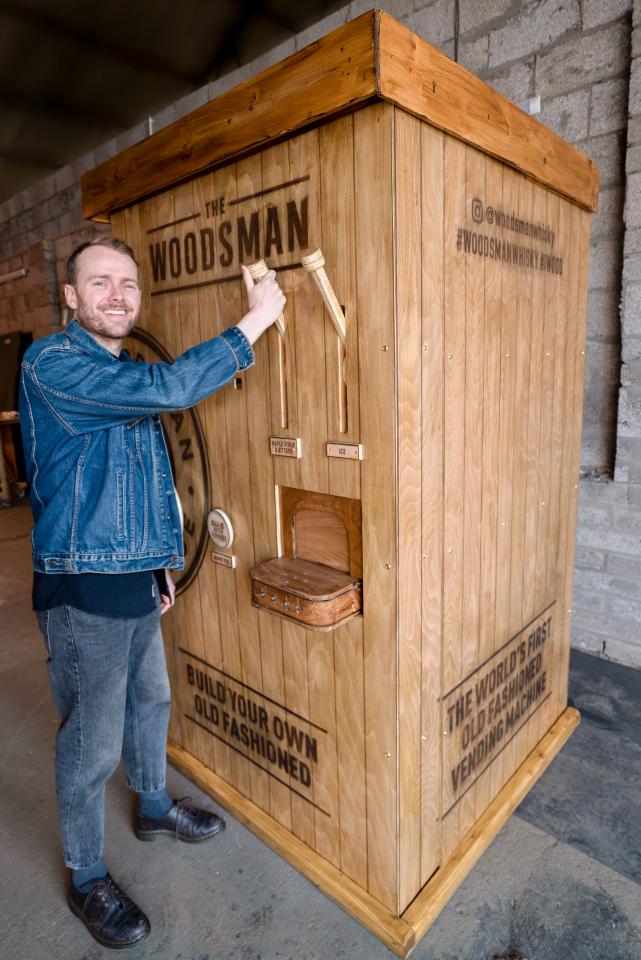 Виски-вендинг гастролирует по Великобритании