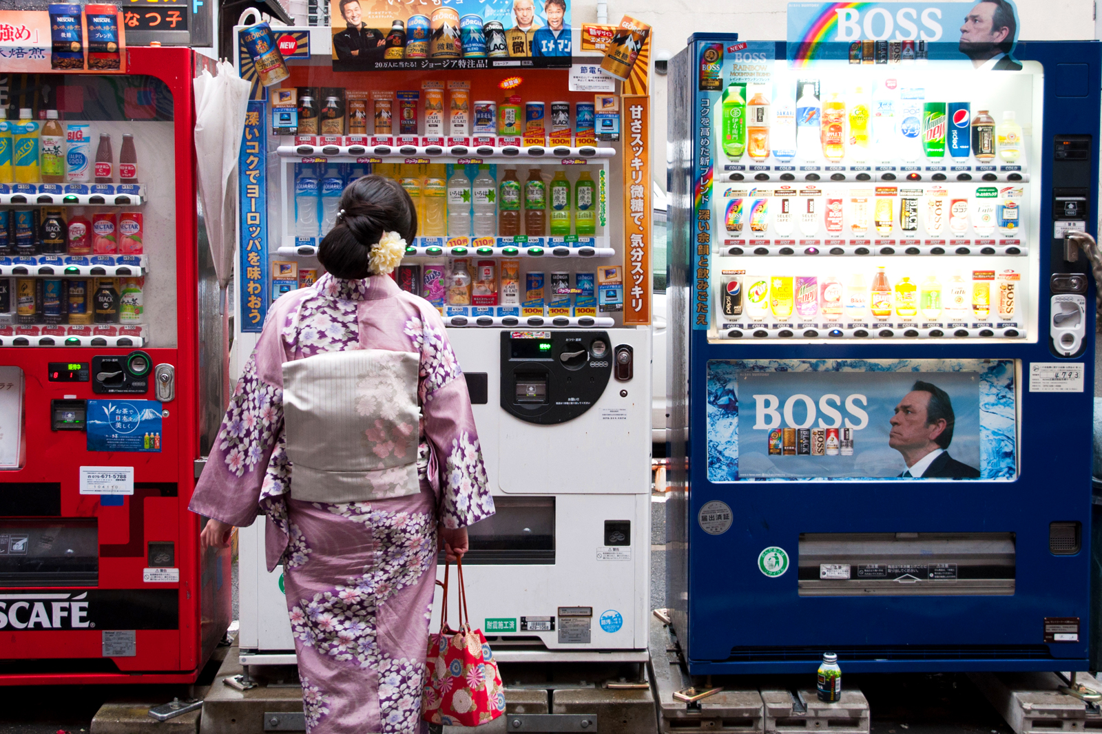 Япония переходит на биометрический TAX FREE в торговых автоматах