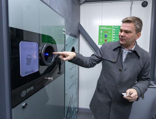 Как устроен мусорный вендинг в Эстонии