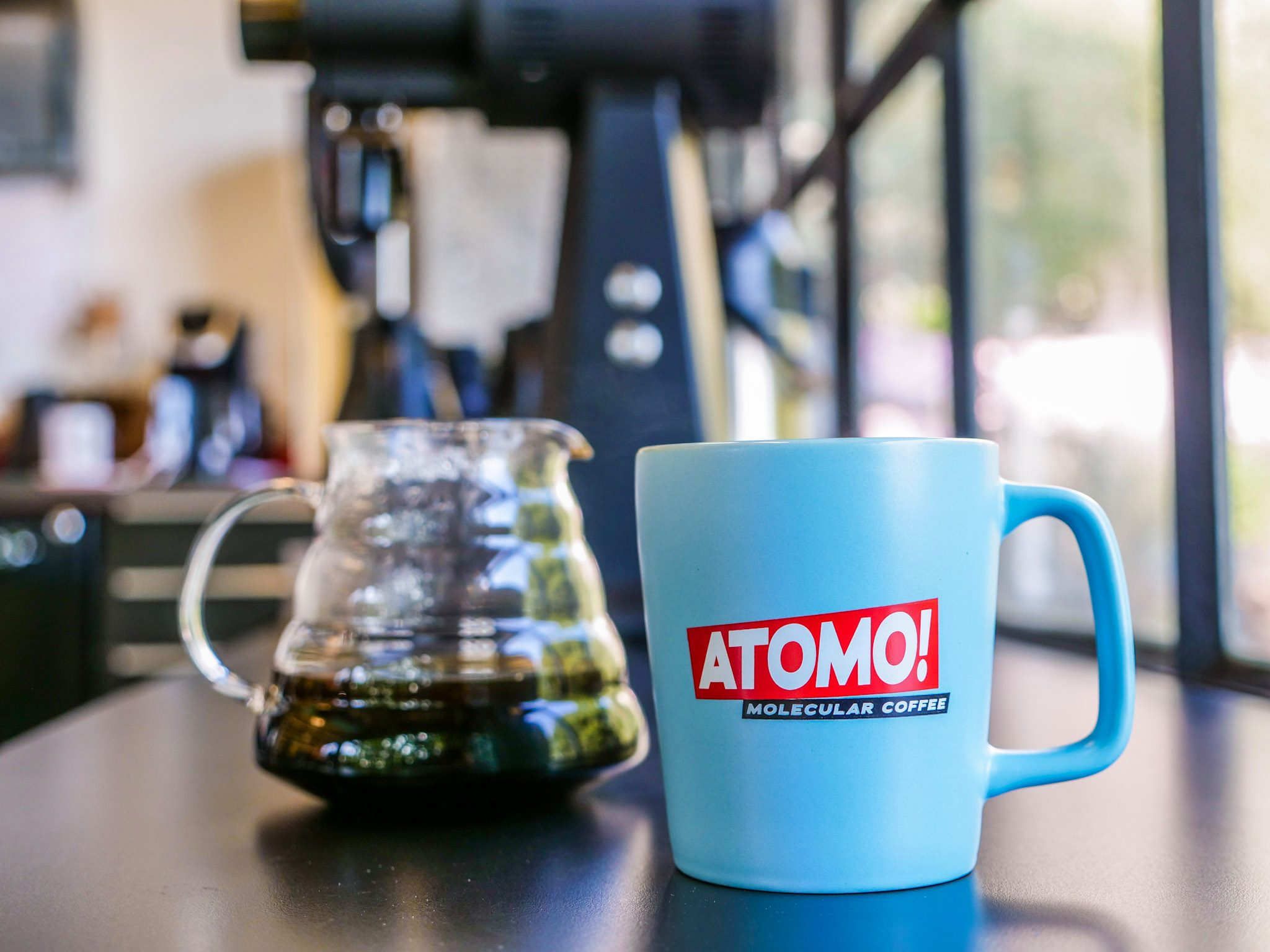 Atomo Molecular Coffee