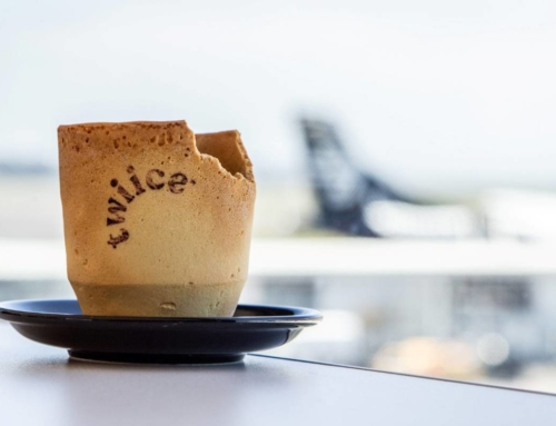 У Air New Zealand такой вкусный кофе, что потом съедаешь чашку!