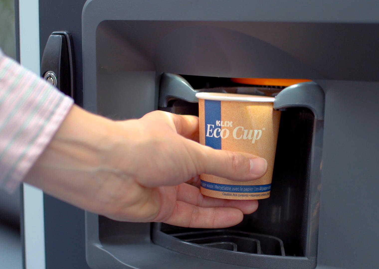Lavazza представила KLIX Eco Cup ™ для вендинга