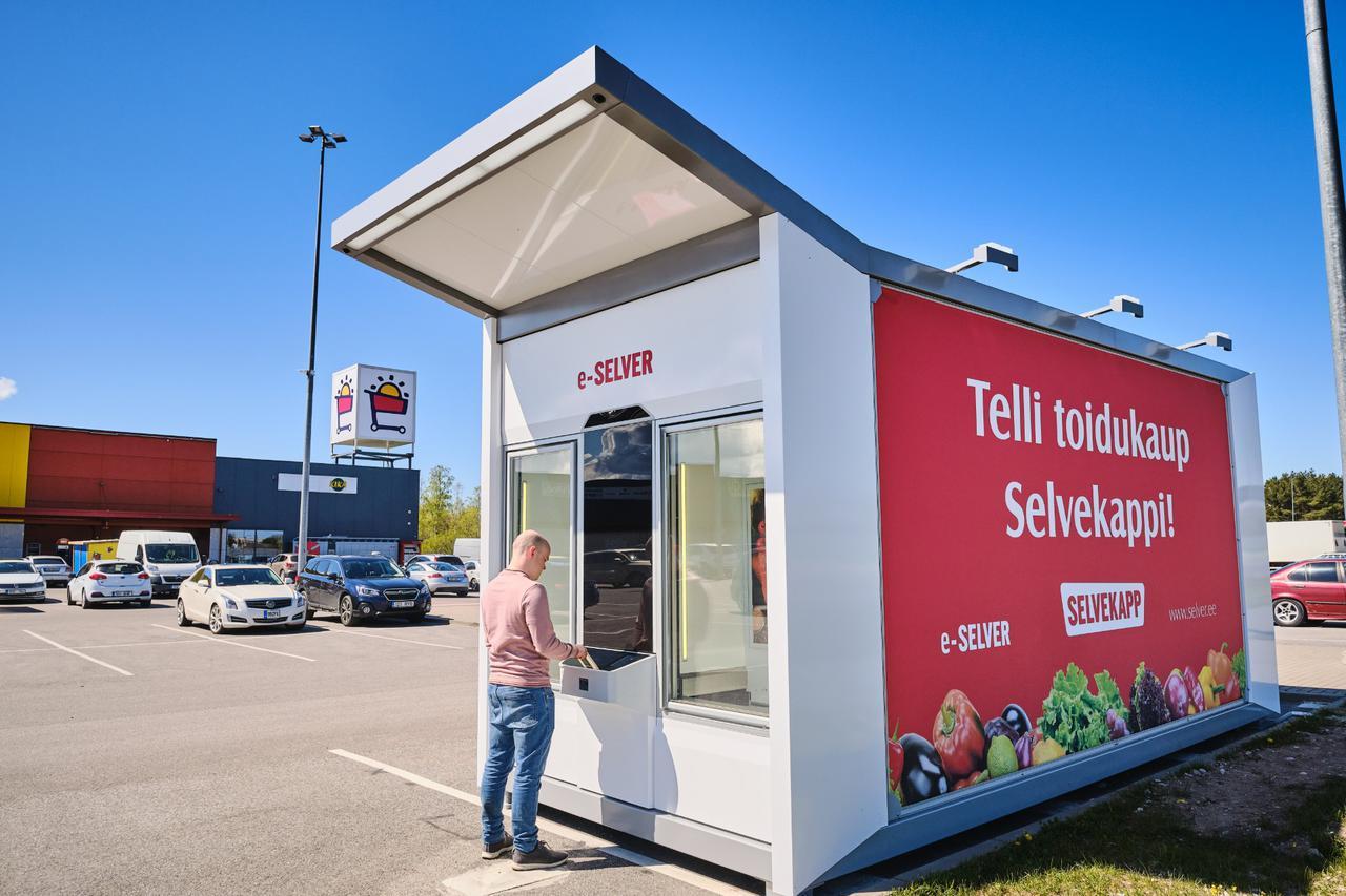 Эстония автоматизируется вендингом