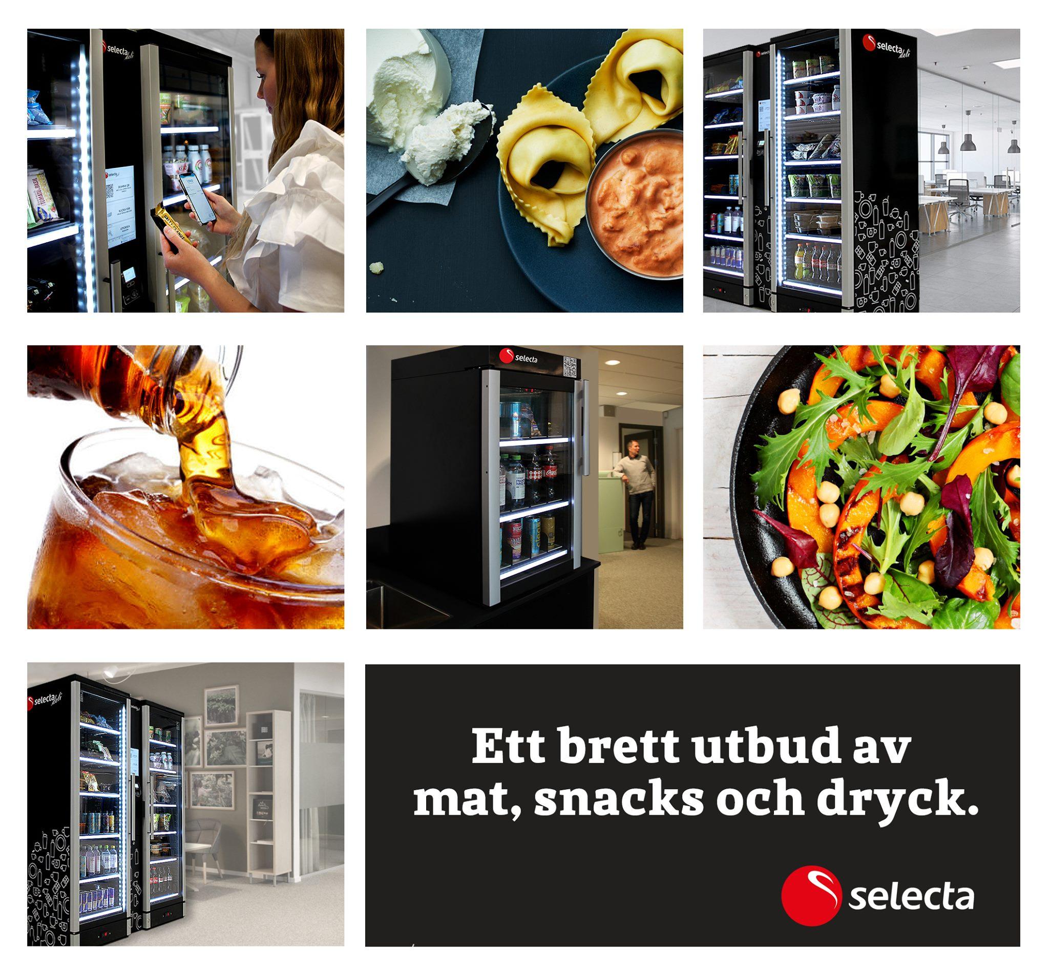Selecta представила инновационные умные холодильники для общественного питания