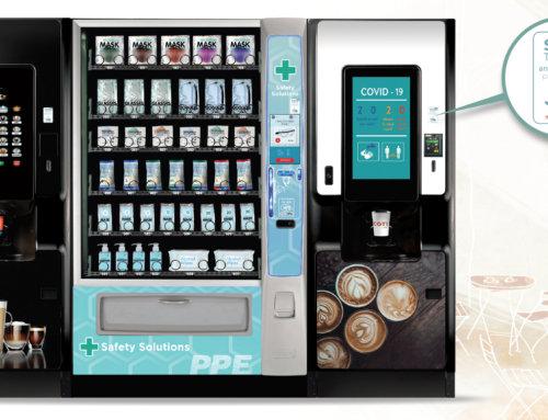 Crane представили SAFEtouch для безопасного контакта с торговым автоматом