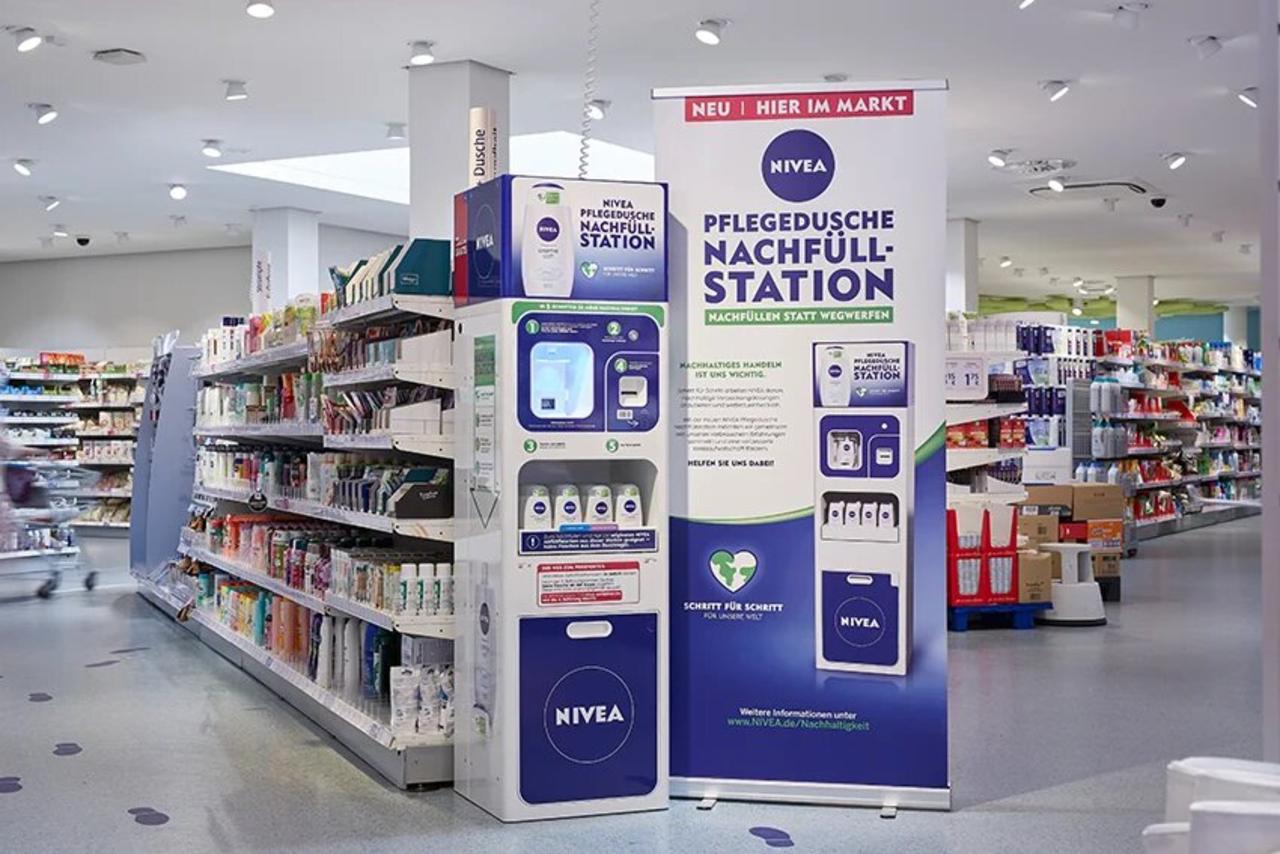 Nivea начала продаваться на розлив в вендинговых автоматах