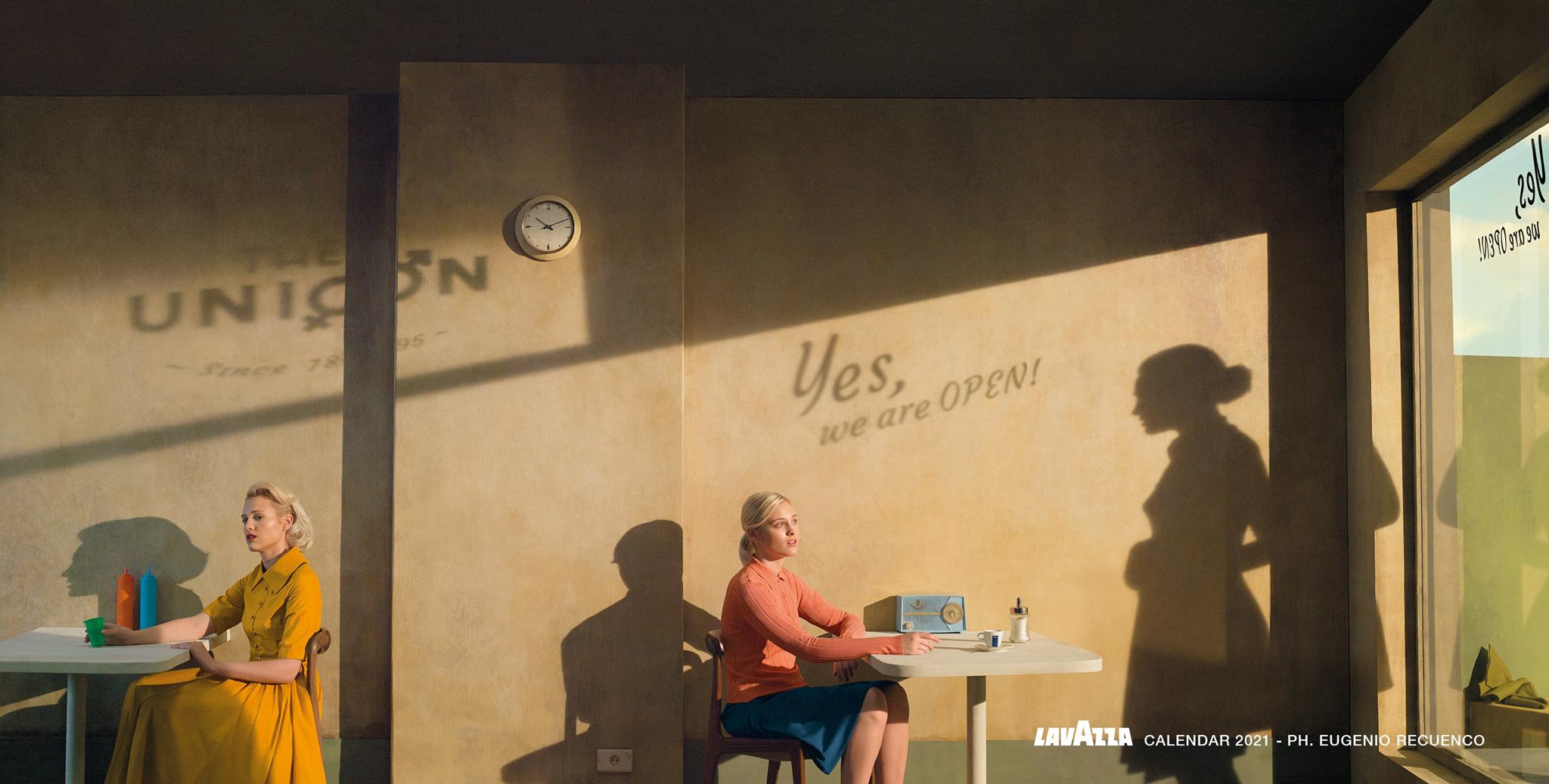 Lavazza 2021 Calendar наводит мосты между людьми с помощью универсального языка искусства