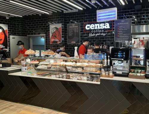 Gruppo Cimbali в кафе Censa в Москве: инновации, дизайн, технологии