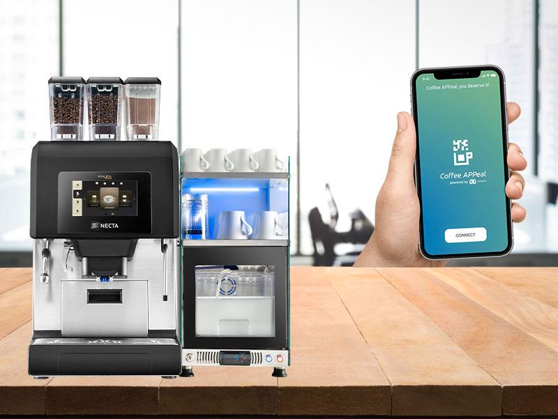 Coffee APPeal от Evoca теперь устанавливаются на Kalea Plus и Krea Touch