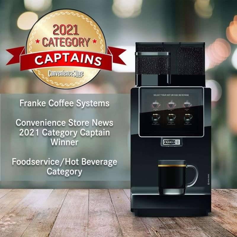 Компания Franke Coffee Systems получила награду «Captains Category 2021»