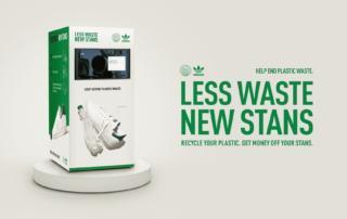Adidas запускает фандоматы, чтобы стимулировать утилизацию и переработку пластика