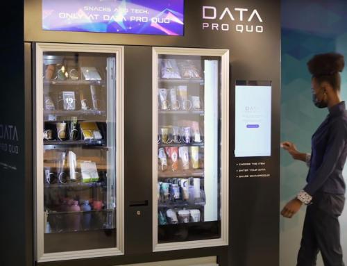 Evoca создали торговый автомат, в котором расплачиваются ответами на вопросы