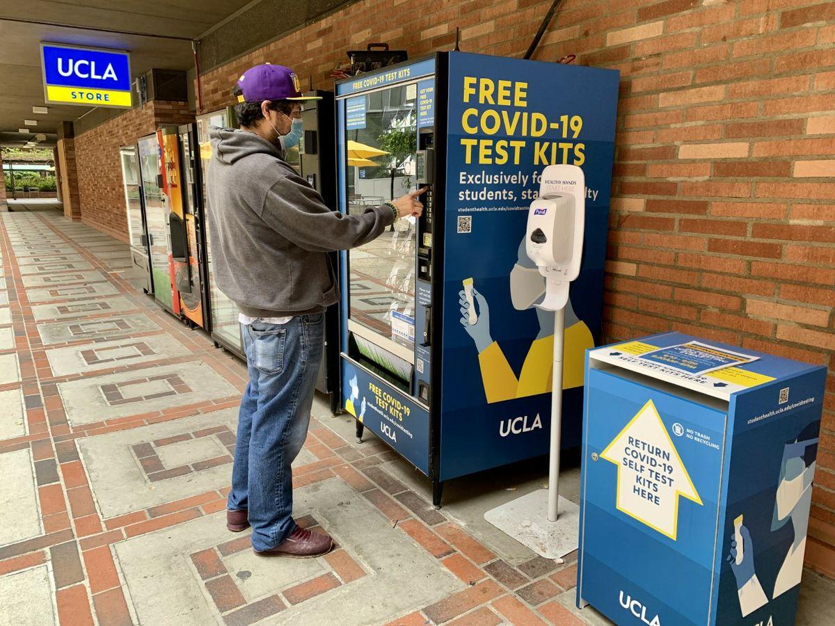 В США начинают бесплатно тестировать граждан на COVID-19 с помощью вендинга